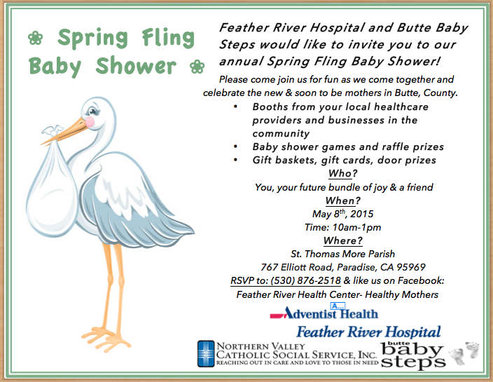 spring fling community baby shower paradise may 8 helpcentral org