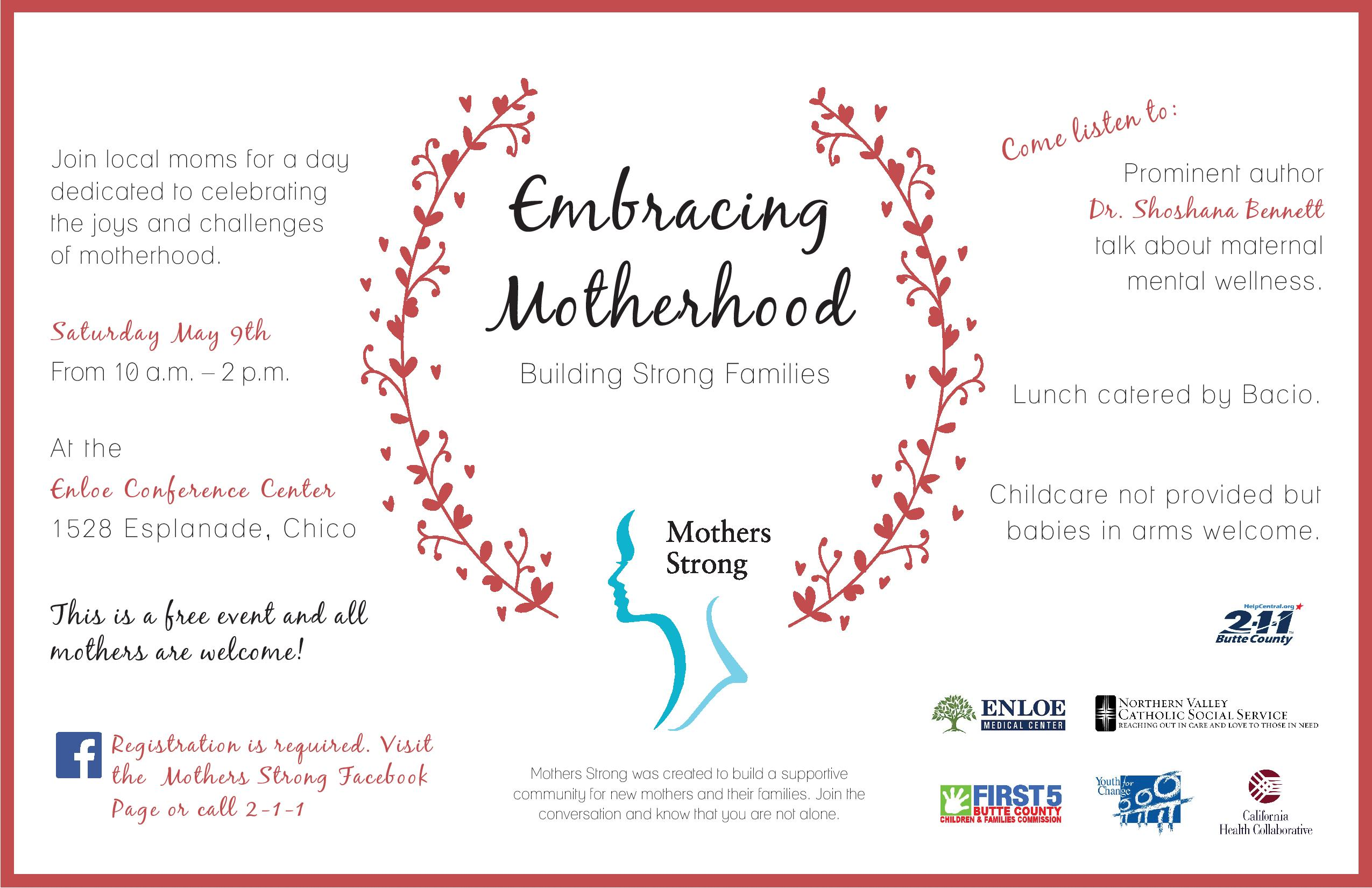 Embracing Motherhood Summit Registration