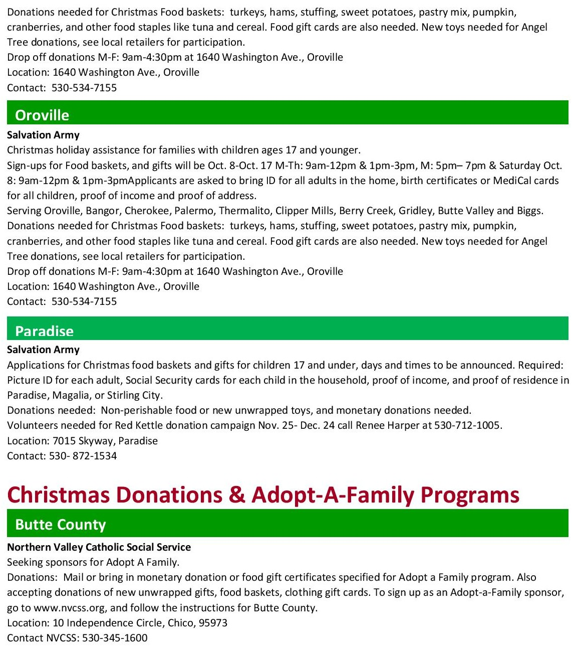 Holiday Assistance | HelpCentral.org