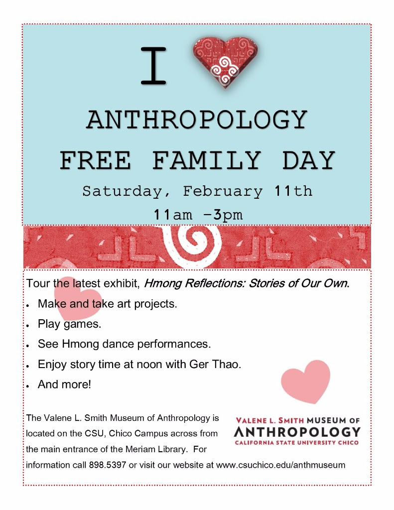 Flier for anthropology day